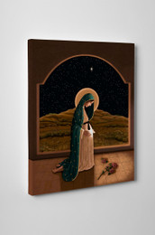 """""""Mother of Life"""" by Nellie Edwards Gallery Wrapped Canvas"""