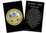 Army Prayer Card