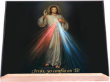 Spanish Divine Mercy Bible Stand