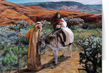 Flight into Egypt (Jenicke) Greeting Card