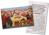 Wedding Feast at Cana Icon Wedding Holy Card