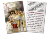 Ordination Holy Card