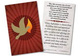 Holy Spirit Ordination Holy Card