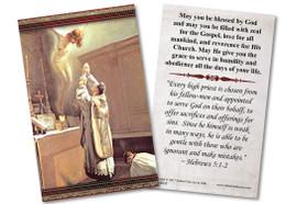 First Mass Ordination Holy Card