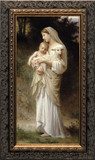 L'Innocence Canvas - Closeout Dark Ornate Frame