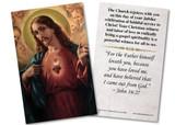 Sacred Heart Jubilee Holy Card