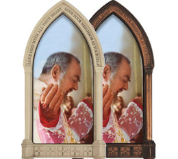 St. Padre Pio at Mass Home Doorpost Blessing