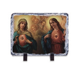 Immaculate & Sacred Heart Horizontal Slate Tile