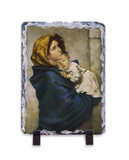 Madonna of the Streets Vertical Slate Tile