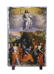 Ascension of Christ Vertical Slate Tile