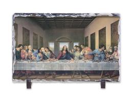 The Last Supper Redone Horizontal Slate Tile