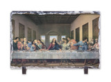 The Last Supper Redone Horizontal Slate Tile