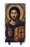 Christ Pantocrator Icon Vertical Slate Tile