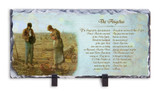 The Angelus Prayer Horizontal Slate Tile