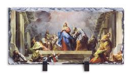 Coming of the Holy Spirit Horizontal Slate Tile