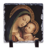 Our Lady of Good Counsel Square Slate Tile
