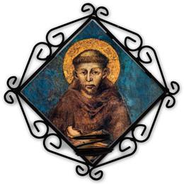 St. Francis Votive Candle Holder