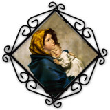 Madonna of the Streets Votive Candle Holder