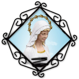 Our Lady Good Help Votive Candle Holder