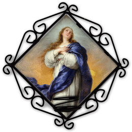Immaculate Conception Votive Candle Holder