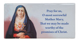 Our Lady of Sorrows Prayer Hi-Gloss Mini Tile