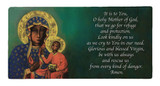 Our Lady of Czestochowa Prayer Hi-Gloss Mini Tile