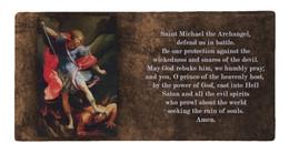 St. Michael Prayer Hi-Gloss Mini Tile