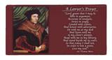St. Thomas More Prayer Hi-Gloss Mini Tile