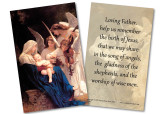 Song of the Angels Holy Card