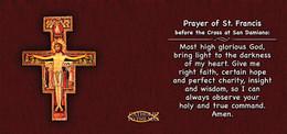 San Damiano with Prayer Mug