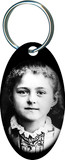 St. Therese Child Oval Keychain