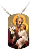 St. Joseph Dog Tag