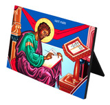 St. Mark Horizontal Desk Plaque