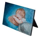 Safe in Arms by Susan Brindle Horizontal Desk Plaque