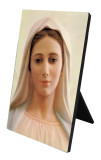 Our Lady of Medjugorje Vertical Desk Plaque
