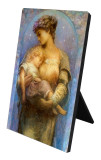 O Holy Night Vertical Desk Plaque