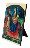 Flight Into Egypt (Medieval) Vertical Desk Plaque