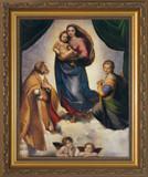 Sistine Madonna by Raphael Framed Art
