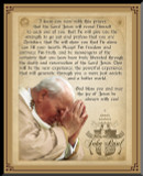 Pope John Paul II Beatification Graphic Wall Plaque
