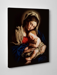 Madonna and Child Gallery Wrapped Canvas