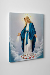 Our Lady of Grace Gallery Wrapped Canvas