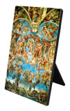 The Last Judgement Vertical Desk Plaque