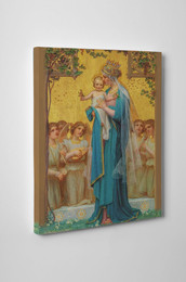 Madonna and Child by Vidal Gallery Wrapped Canvas