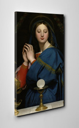 Madonna of the Host Gallery Wrapped Canvas