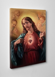 Sacred Heart of Jesus Gallery Wrapped Canvas