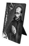 St. Ignatius of Loyola Vertical Desk Plaque