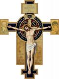 Benedictine Large Wall Plaque Crucifix