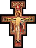 San Damiano Oversized Wall Plaque Cross