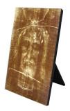 Shroud of Turin Vertical Desk Plaque