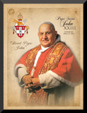 Pope John XXIII Saint Commemorative Wall Plaque